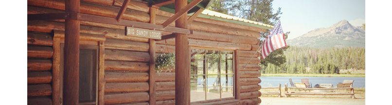 Big Sandy Lodge, Wyoming, Wind River Mountain Resort and
